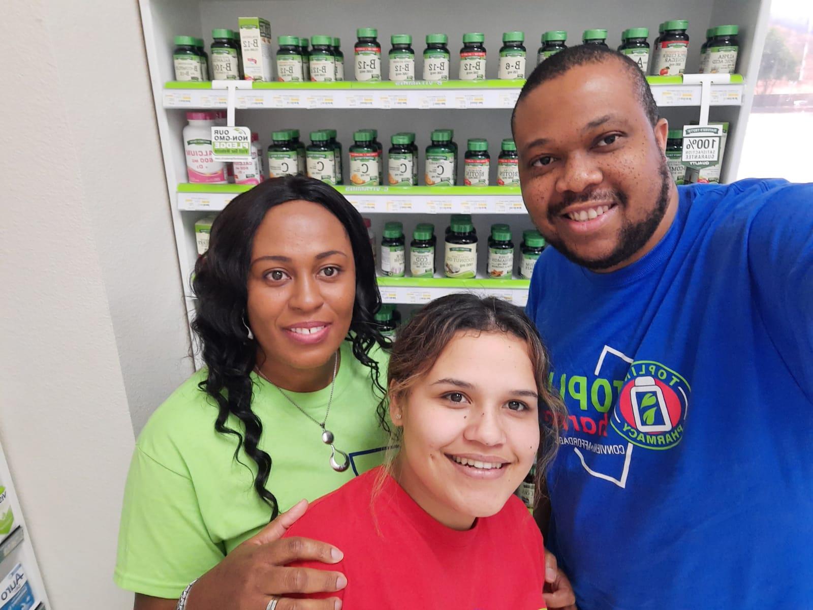 Topline Pharmacy staff-3 Staff at work