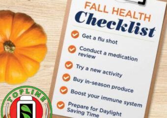 Fall Health List